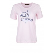 Kurzarmshirt Damen MH HELLO SUMMER T-Shirt Women