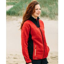 Strick-Fleecejacke Damen ELMVALE LADY