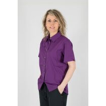 Safari Damenbluse LINDSAY Lady purple Modell