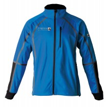 DEPROC Midlayer THORSBY Men Softshell-Jacke blau