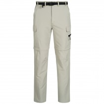 Zip-off Trekkinghose, Outdoorhose & Wanderhose Herren DEPROC KENTVILLE Zipp-Off 4-Wege-Stretch sand side view