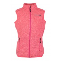 Dünne Strickfleece-Weste Damen WINDWARD VEST LADY