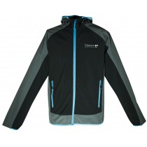 DEPROC XLight CAVELL Men Softshell-Jacke black front