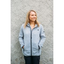Dünne Strickfleece-Jacke Damen WILDWOOD LADY