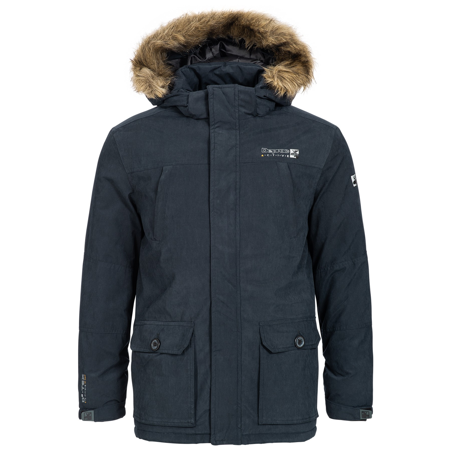 WINTERJACKE & OUTDOORJACKE HERREN DEPROC ELLIOT MEN - navy